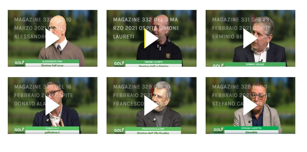 Intervista a Simone Laureti Golf TV